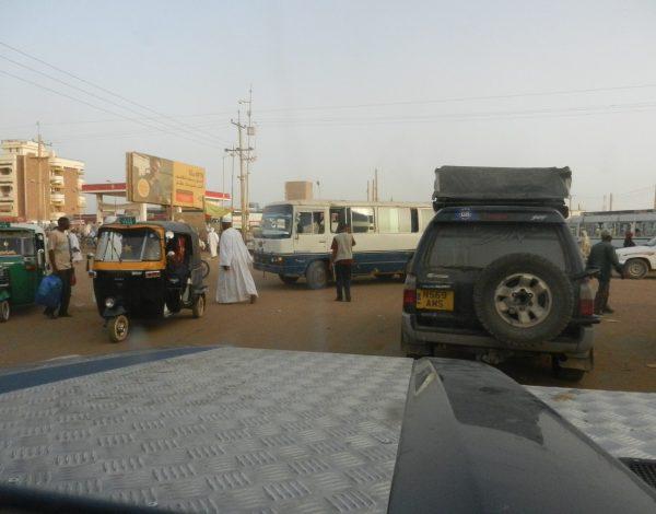 nr 18 _ Khartoum,  die freundliche Unbekannte